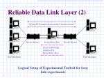 reliable data link layer 2