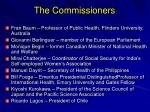 the commissioners