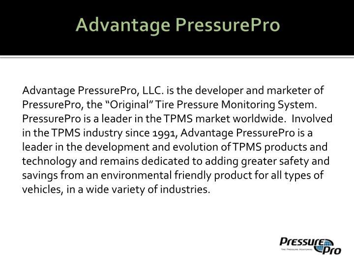 Advantage pressurepro