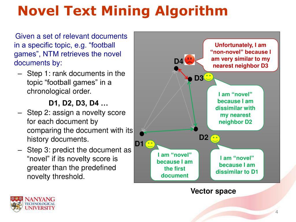 Novel Text Mining Algorithm