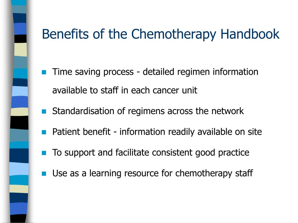 Benefits of the Chemotherapy Handbook