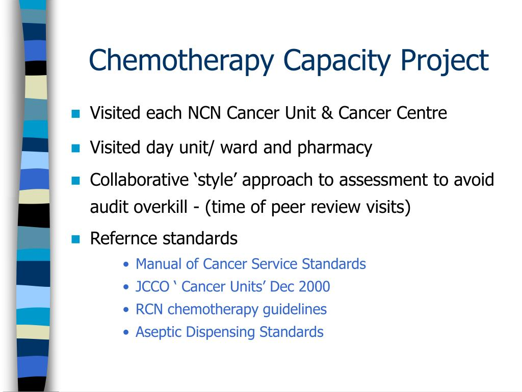Chemotherapy Capacity Project