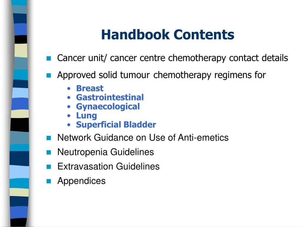Cancer unit/ cancer centre chemotherapy contact details