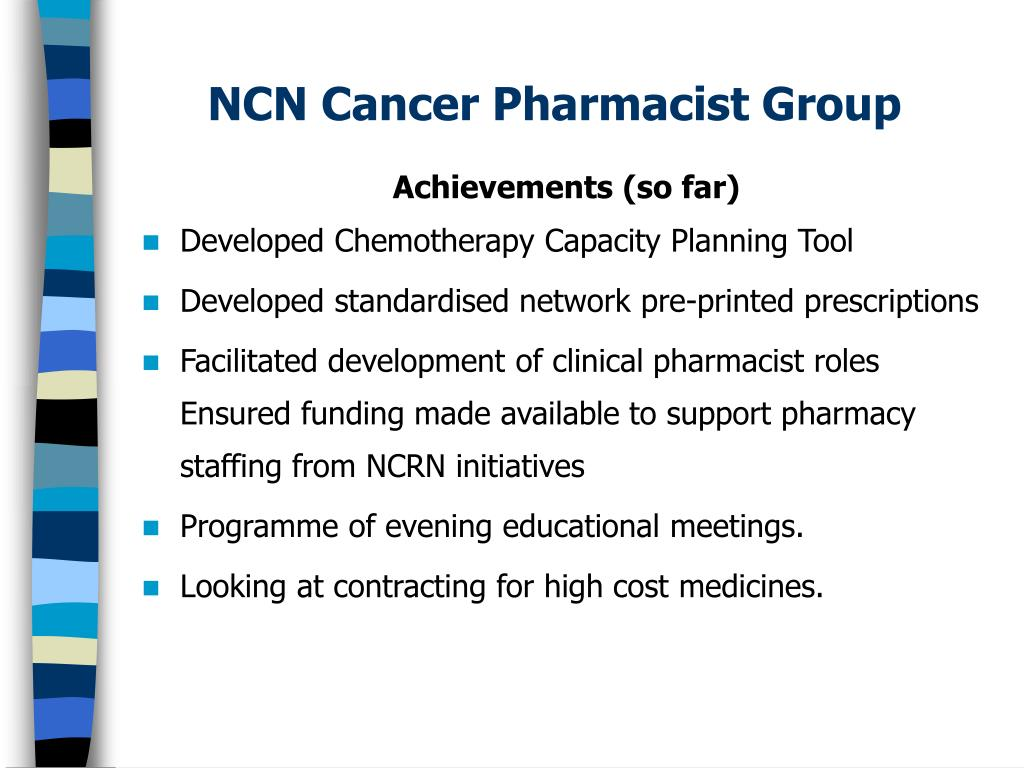 NCN Cancer Pharmacist Group