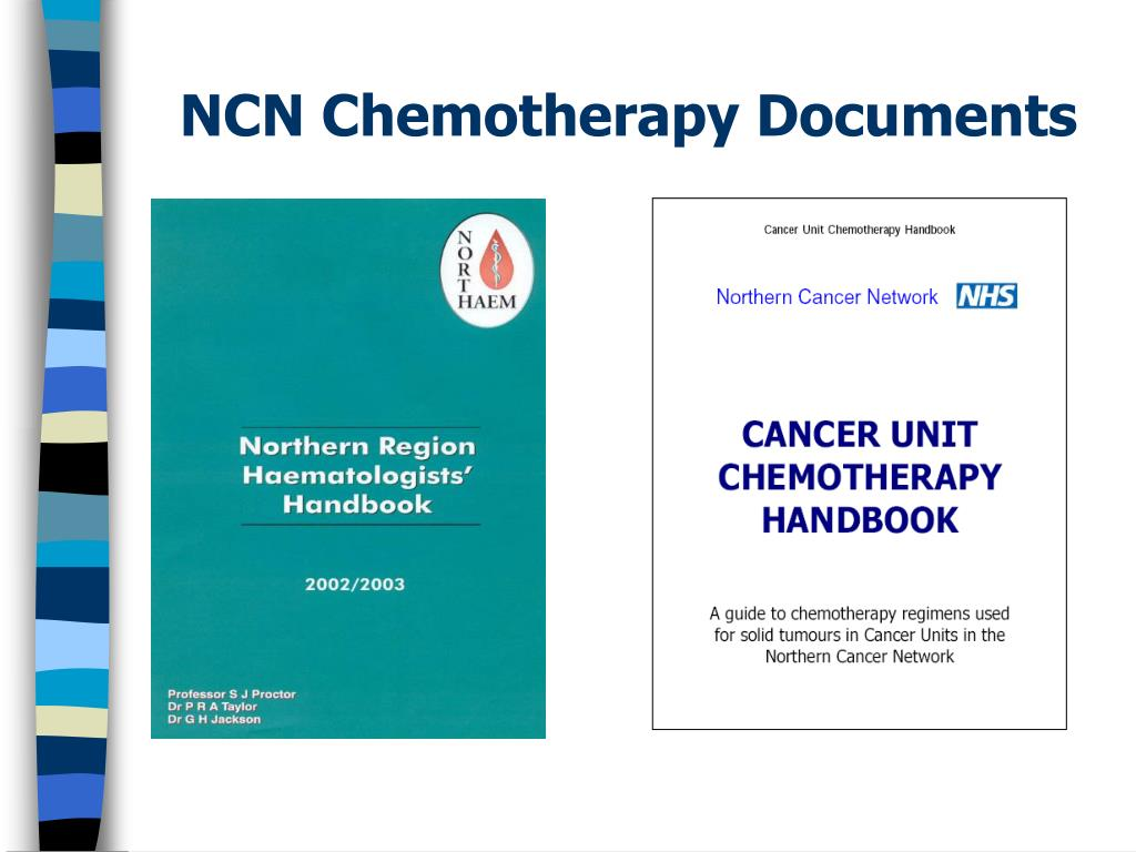 NCN Chemotherapy Documents
