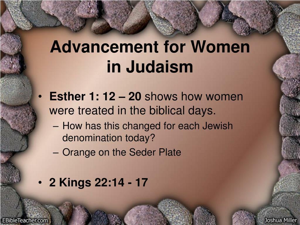 Advancement for Women