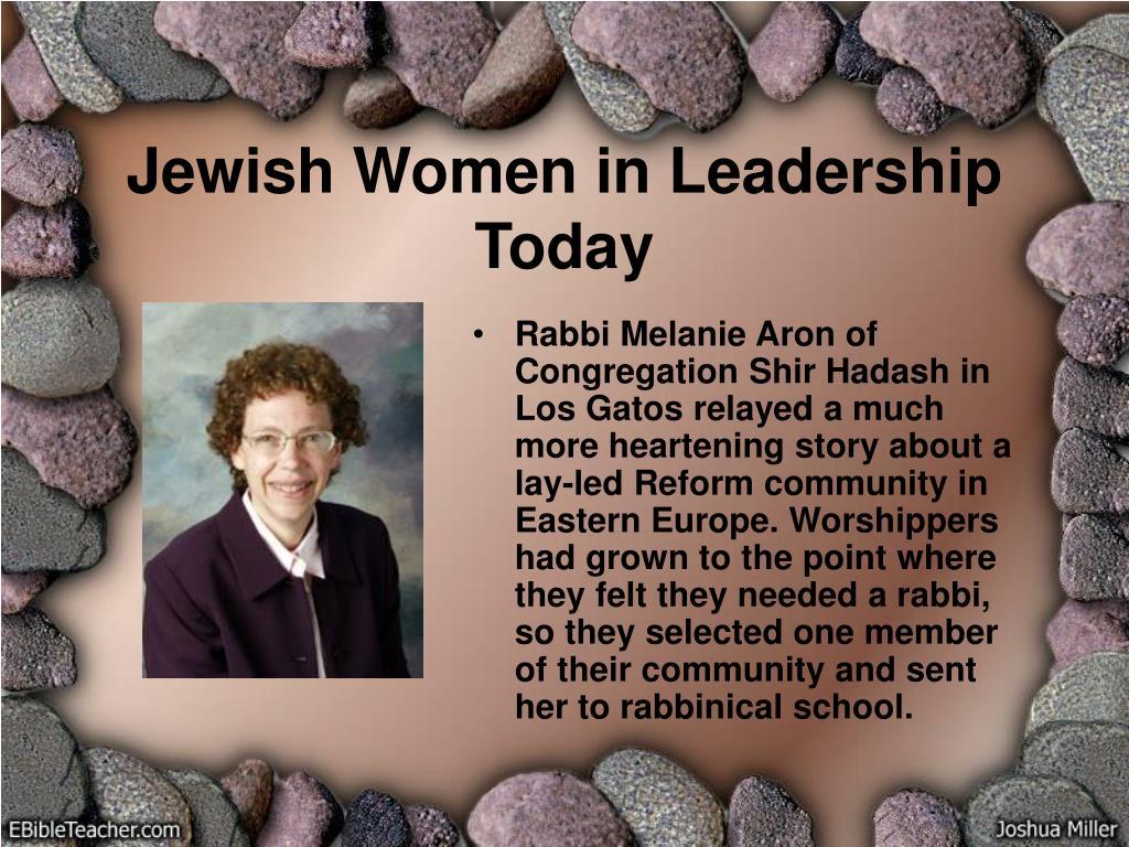 Jewish Women in Leadership Today