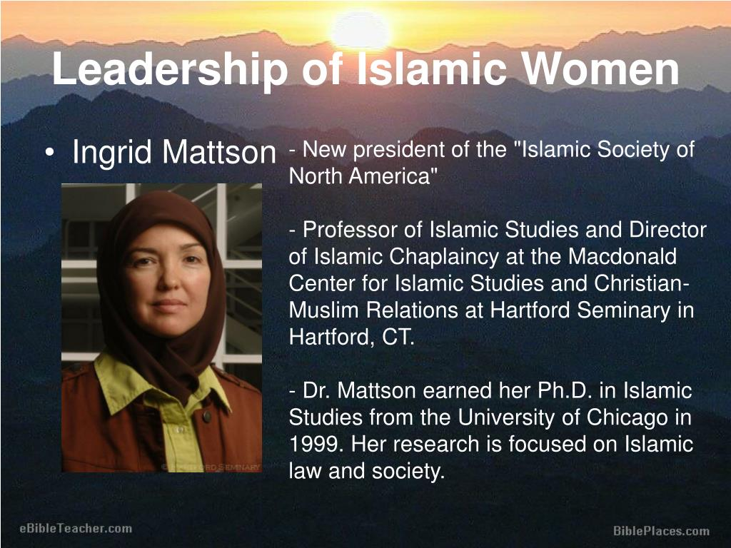 Leadership of Islamic Women
