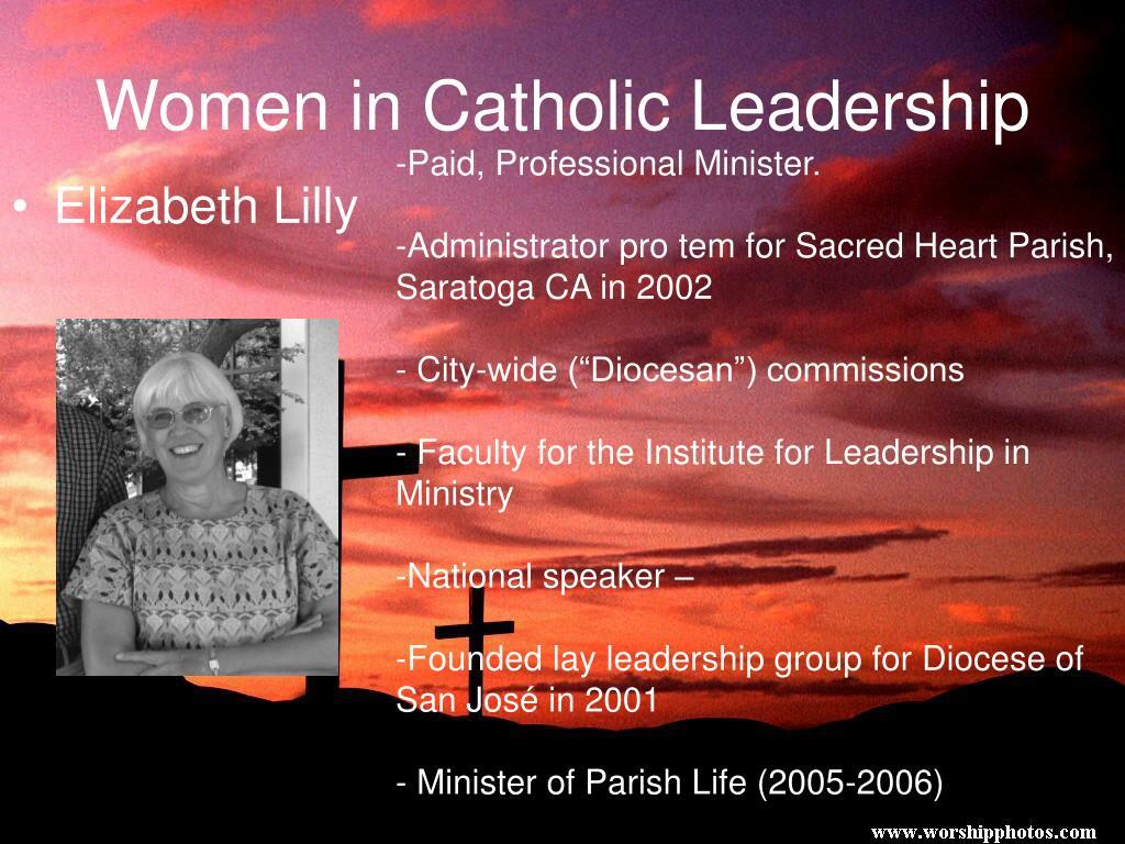 Women in Catholic Leadership