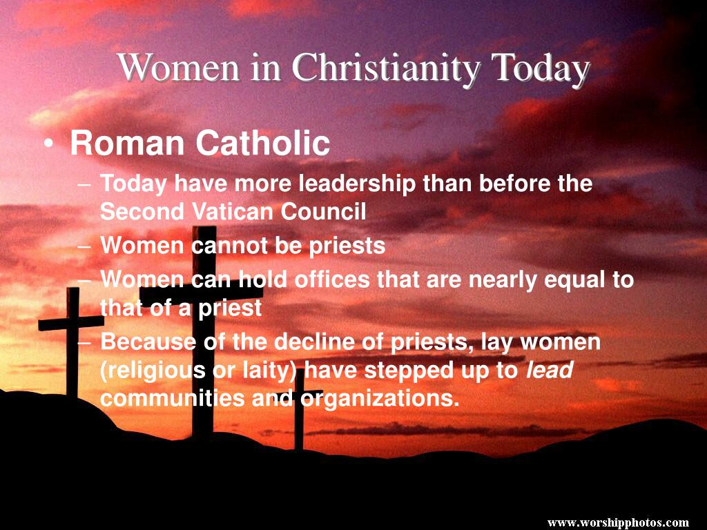 Women in Christianity Today
