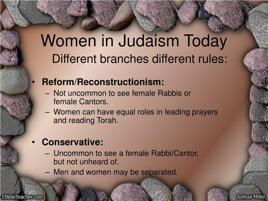 Women in Judaism Today