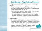 continuous population survey