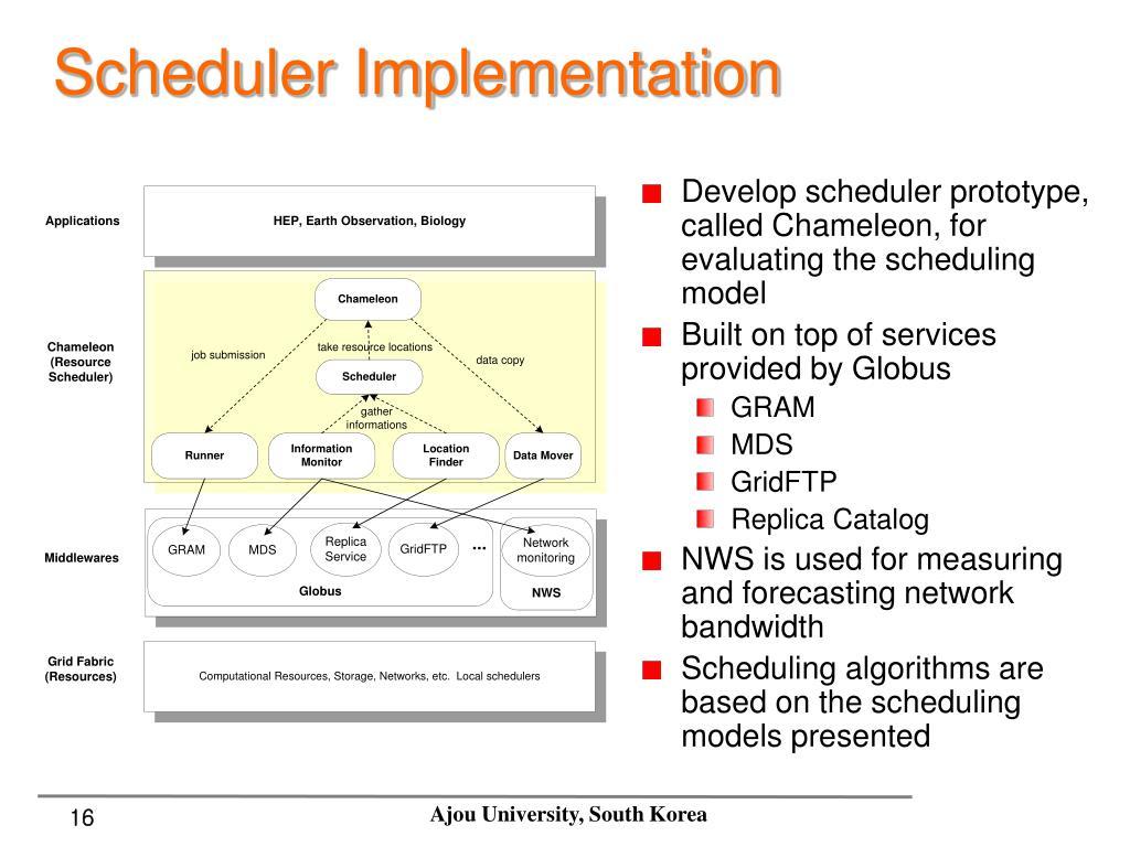 Scheduler Implementation