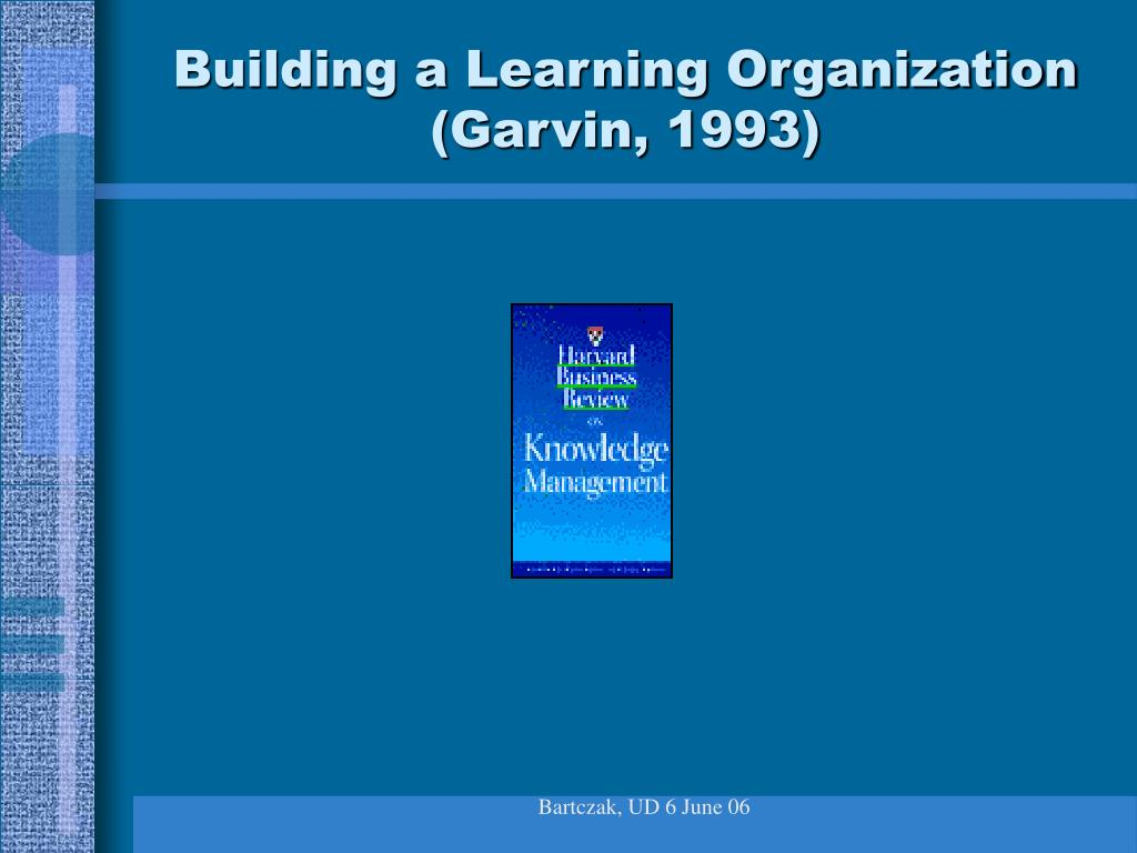 Building a Learning Organization