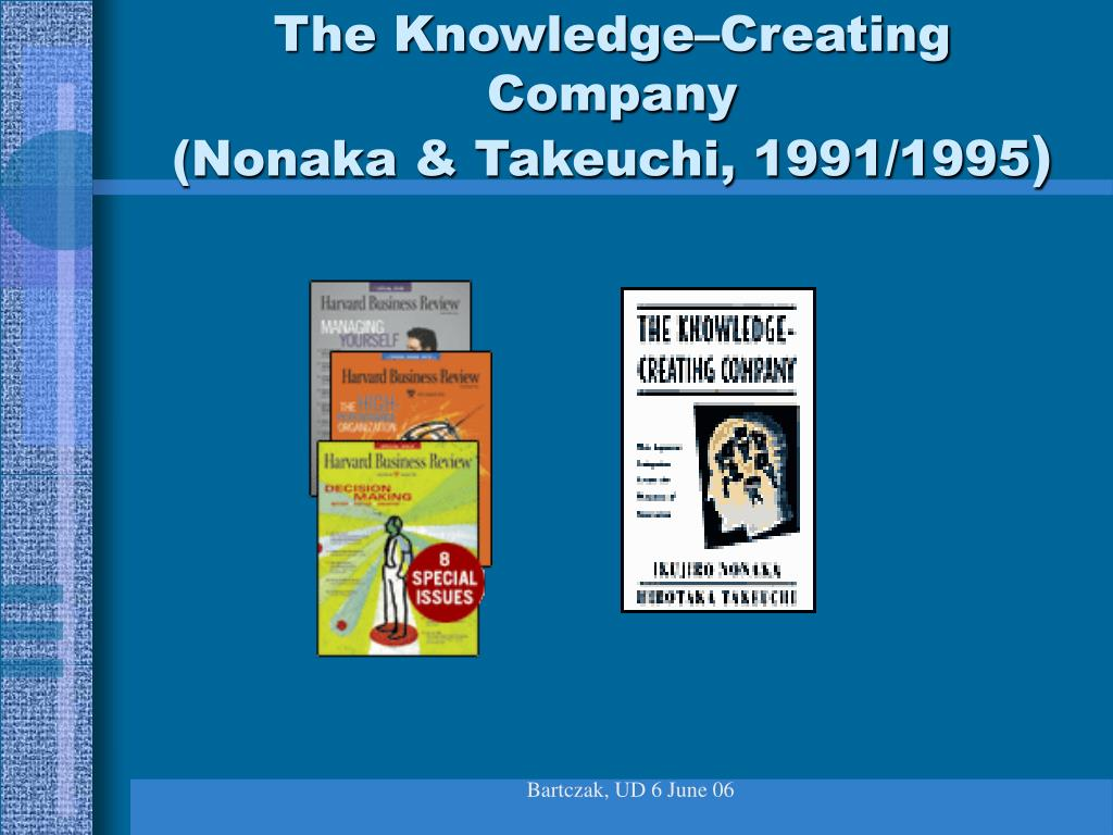 The Knowledge–Creating Company