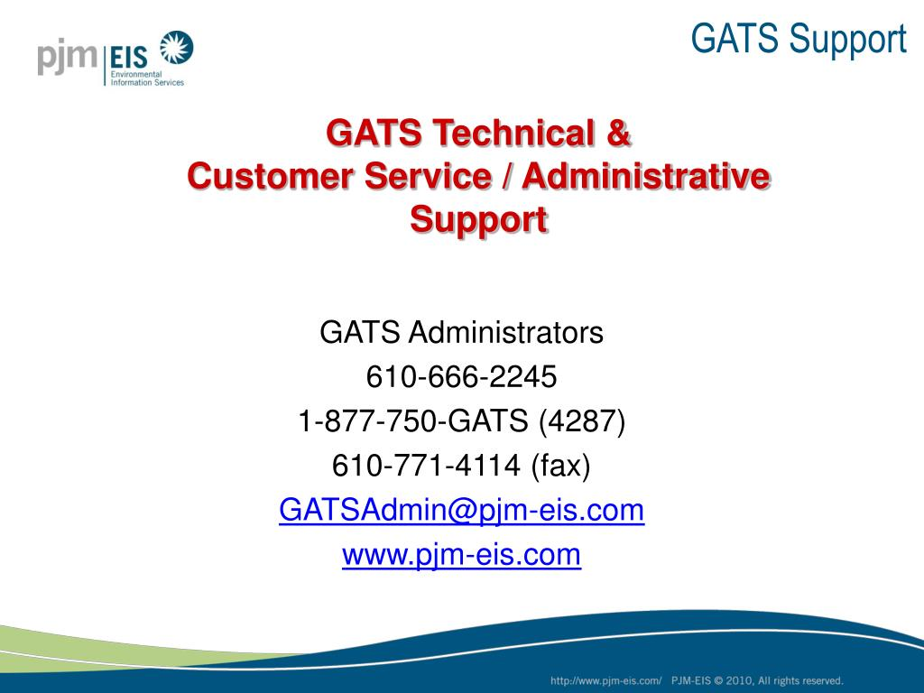 GATS Support