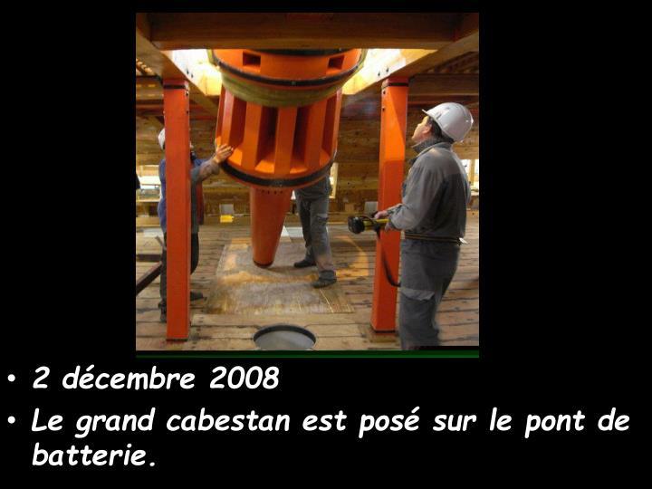 2 décembre 2008