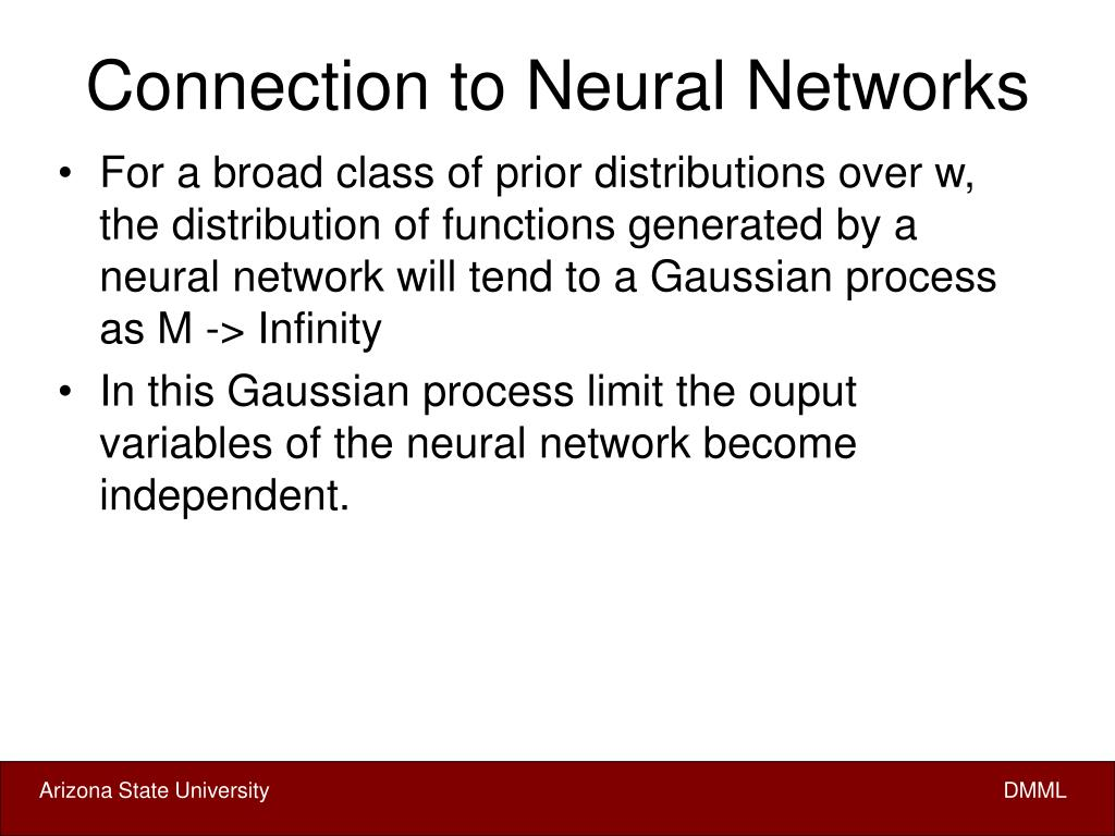 Connection to Neural Networks