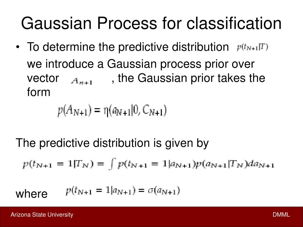 Gaussian Process for classification
