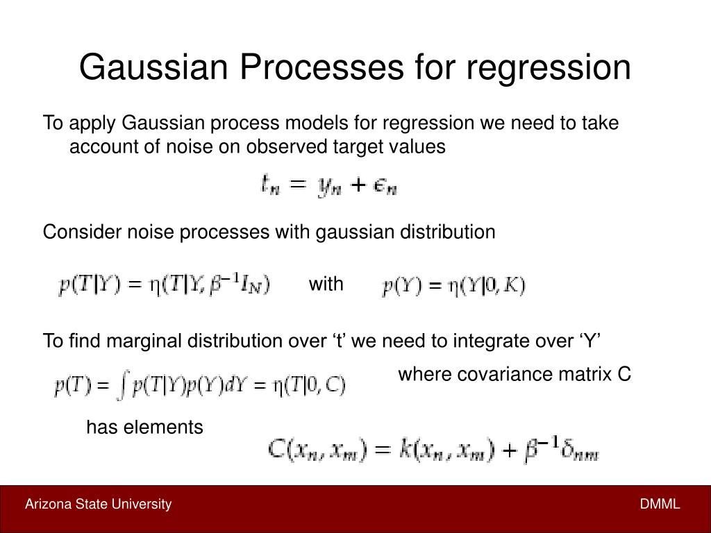 Gaussian Processes for regression