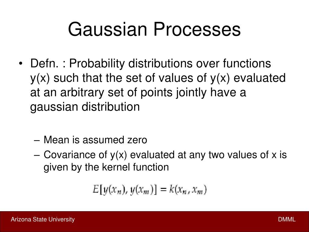 Gaussian Processes