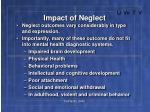 impact of neglect