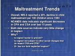 maltreatment trends11