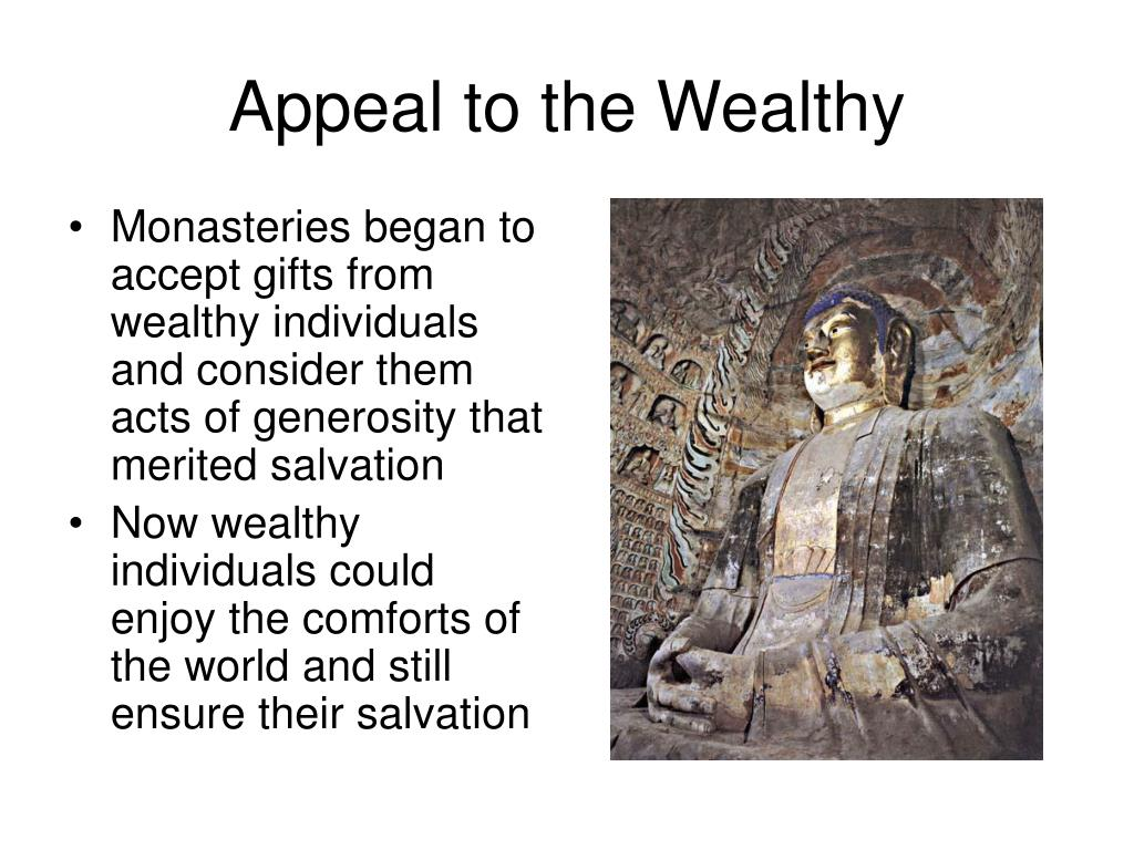 Appeal to the Wealthy