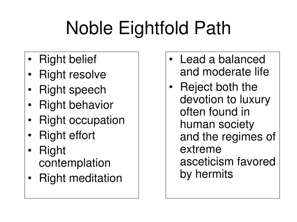 Lead a balanced and moderate life