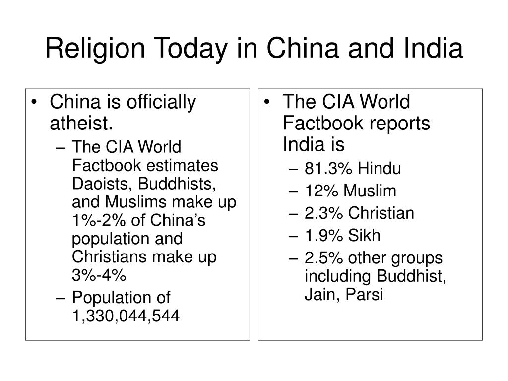 China is officially atheist.