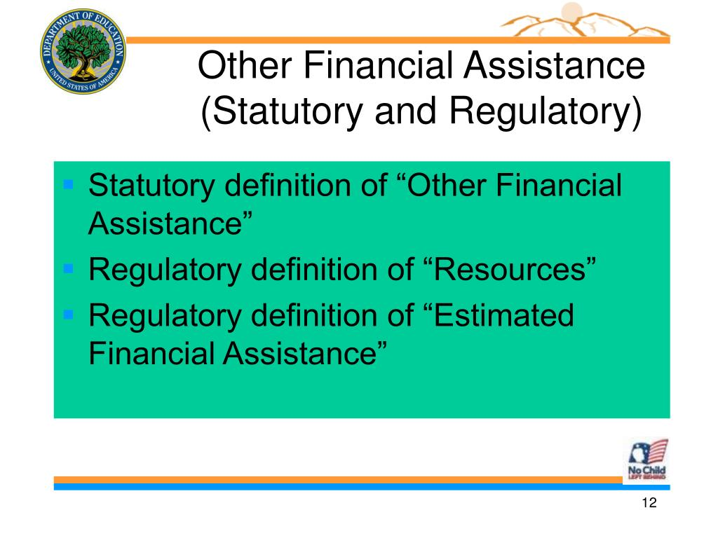 Other Financial Assistance