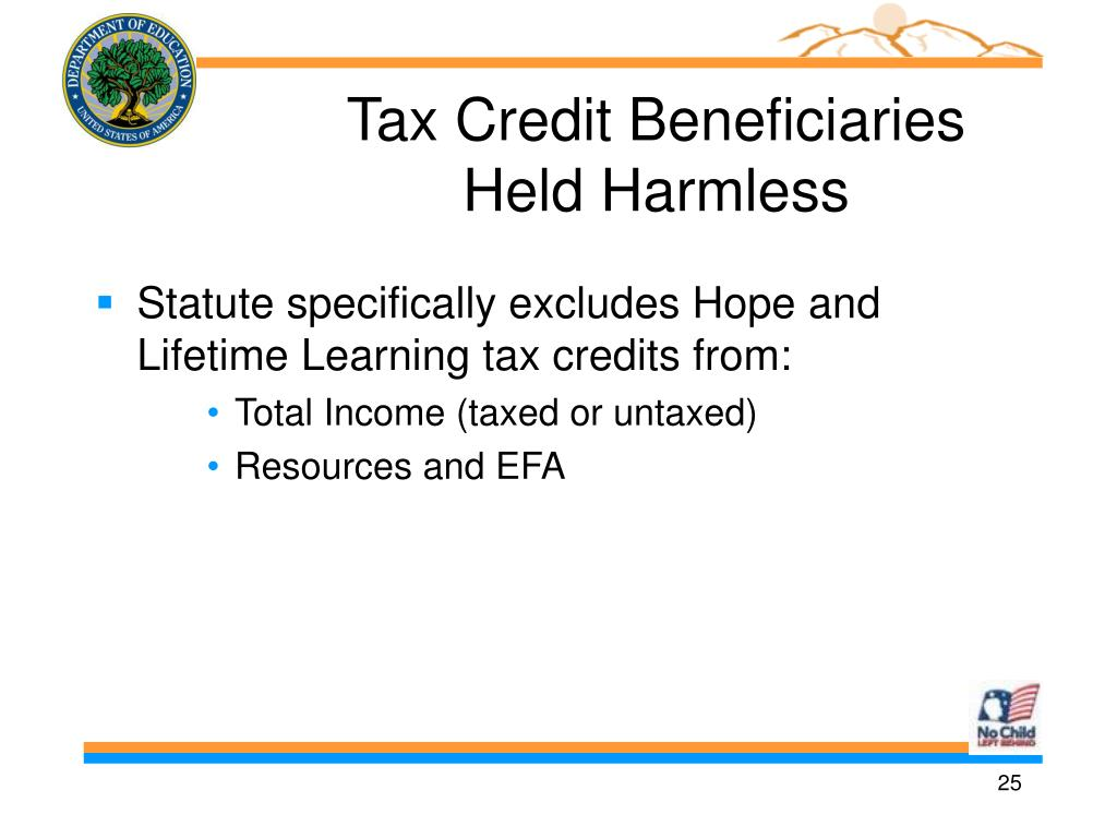 Tax Credit Beneficiaries