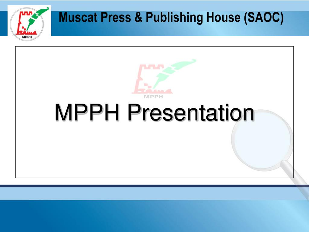 muscat press publishing house saoc l.