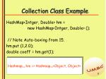 collection class example