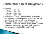 collateralized debt obligations7