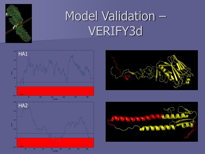 Model Validation – VERIFY3d