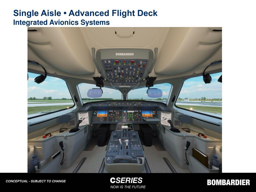 Single Aisle • Advanced Flight Deck