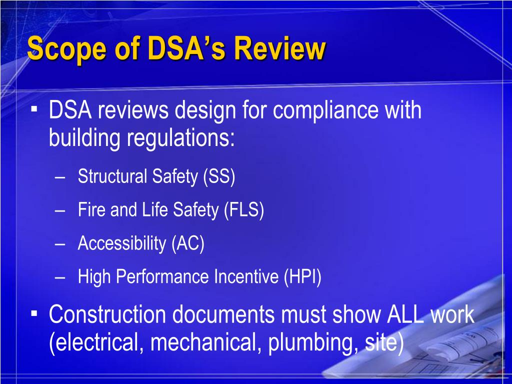 Scope of DSA's Review