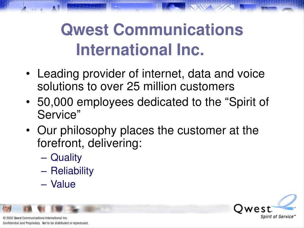 Qwest Communications International Inc.