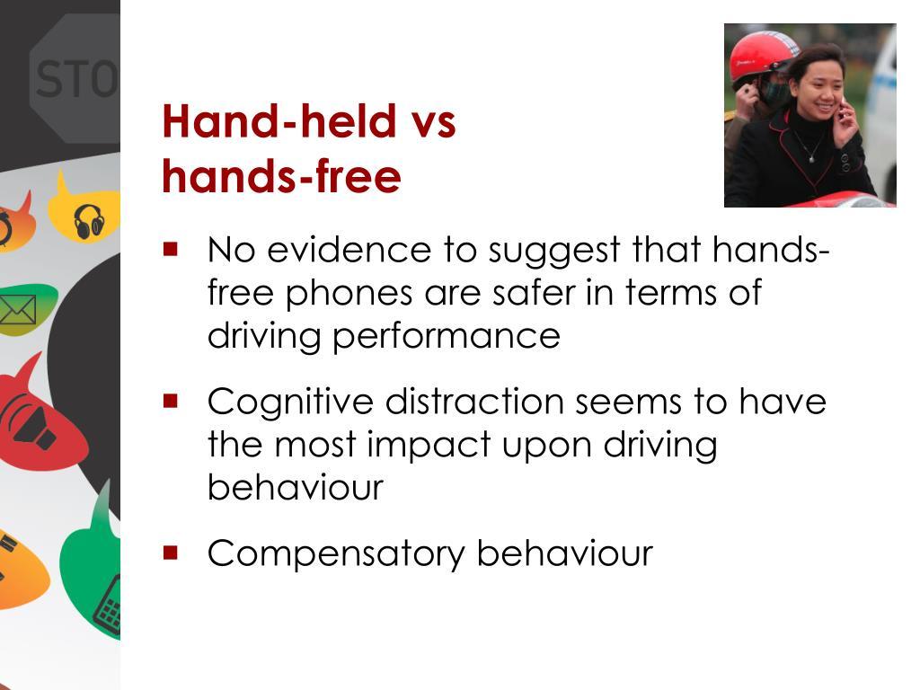 Hand-held vs