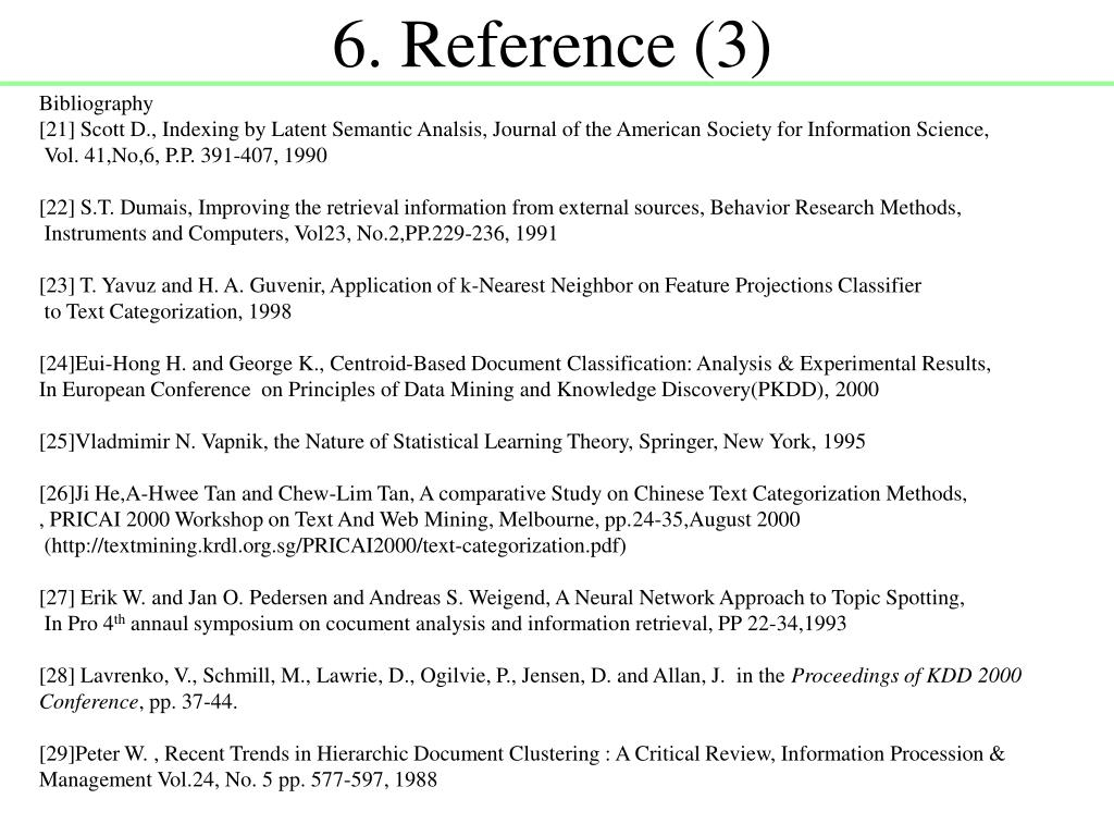 6. Reference (3)