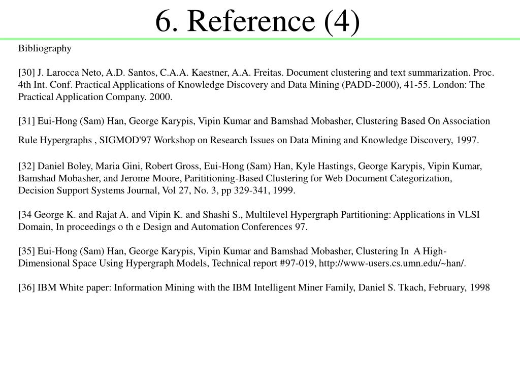 6. Reference (4)