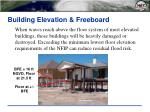 building elevation freeboard