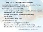 ring 2 cscl communication media 1