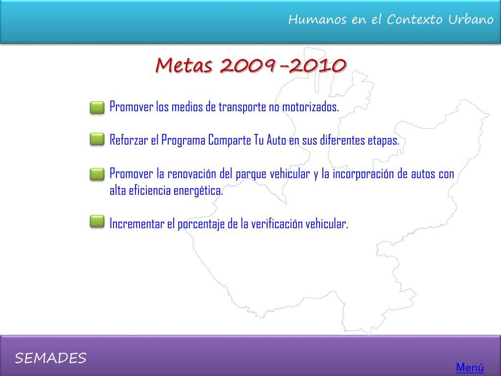 Metas 2009-2010