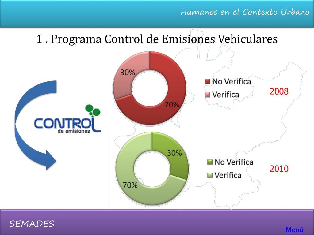 1 . Programa Control de Emisiones Vehiculares