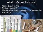 what is marine debris