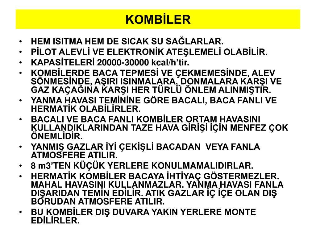 KOMBİLER