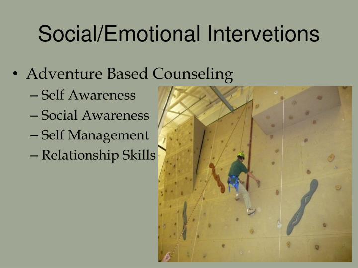 Social/Emotional Intervetions