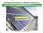 olin engineering complex 4 7 kw solar pv roof array